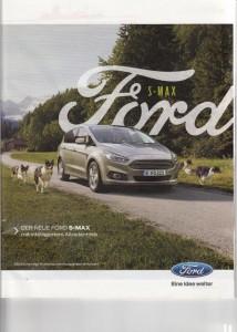 Hunde in der Werbung Ford